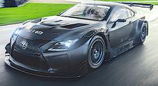 Lexus RC F GT3, reveal a Ginevra per la racing car ibrida con 500 cv da endurance