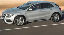 GLA, la Mercedes cala il poker: quarto modello della famiglia compatta