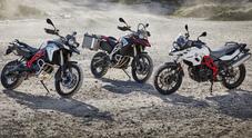 BMW aggiorna GS F700, F800 e Adventure: motori Euro 4 e cruscotto inedito