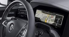 Bosch lancia il primo quadro strumenti curvilineo. Debutto su Volkswagen Touareg