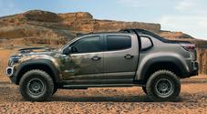 Esercito Usa collauda pick-up GM Silverado ZH2 a idrogeno. Evoluzione a emissioni zero del Colorado ZH2
