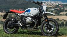 BMW R nineT Urban, c'è profumo della mitica GS che dominò la Dakar negli anni '80