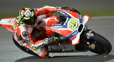 Gp di Austria prima fila tutta italiana: Iannone, Rossi e Dovizioso, Marquez solo quinto
