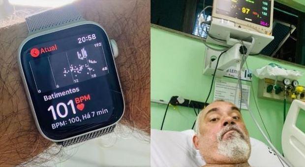 Evita l'infarto grazie all'Apple Watch e posta la foto sui social: Tim Cook gli scrive una mail