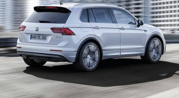 La nuova generazione di Volkswagen Tiguan