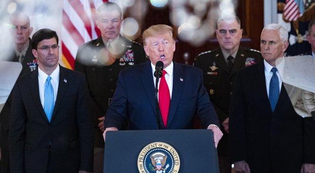 Attacco Iran, Trump parla alla nazione in diretta tv