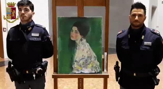 Klimt, il quadro ritrovato a Piacenza è autentico: rubato nel '97 saltò fuori durante le pulizie