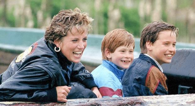 Lady Diana portava piccoli Harry e William da McDonald's: «Volevano solo divertirsi»