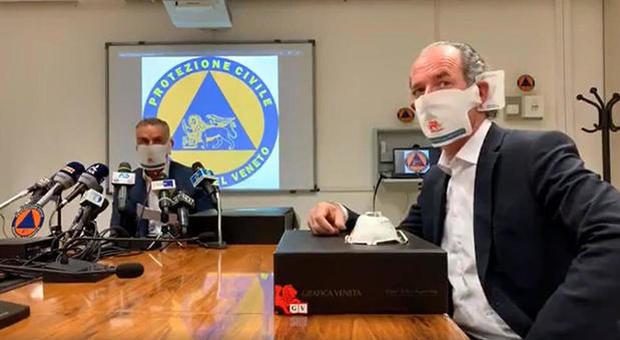 Coronavirus Veneto, quasi seimila casi. Zaia: «Confiscati i respiratori dei veterinari»