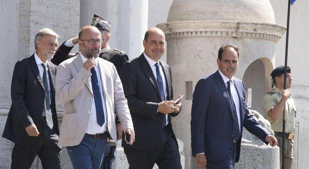 Nicola Zingaretti, telefonate con Di Maio