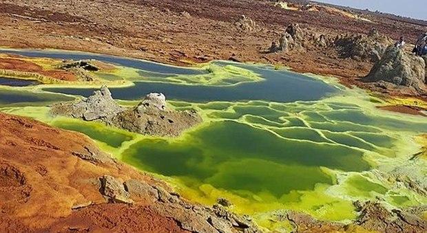 In Etiopia scoperte piscine vulcaniche che distruggono qualsiasi forma di vita