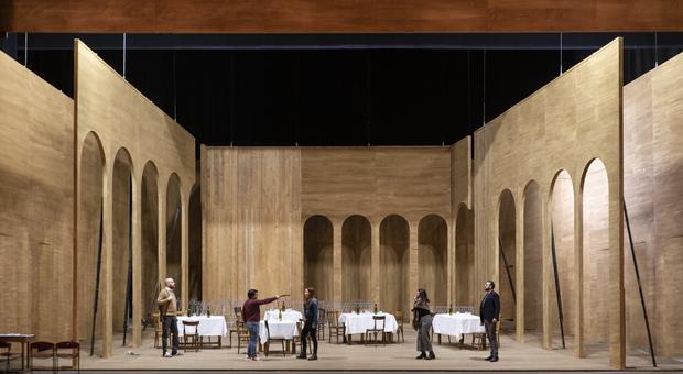 La scena di I Capuleti e i Montecchi