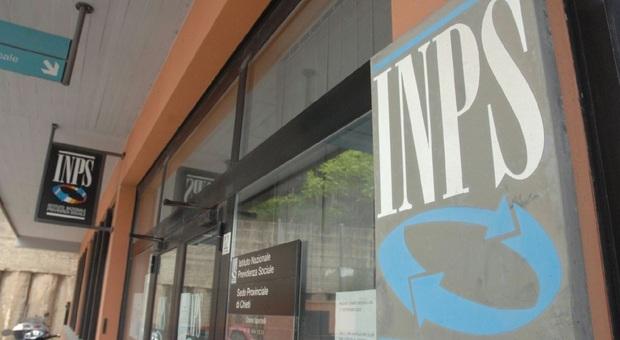 Una sede dell'Inps