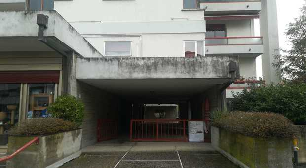Il condominio nel quale è avvenuto l'infortunio