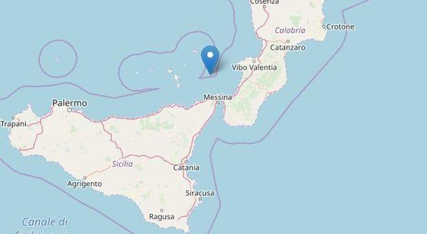 Terremoto nel Tirreno, forte scossa di 4.0 davanti alle coste di Calabria e Sicilia