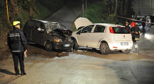 Pescara, incidente frontale: la moglie muore, gravissimo il marito, ex comandante dei vigili di Spoltore