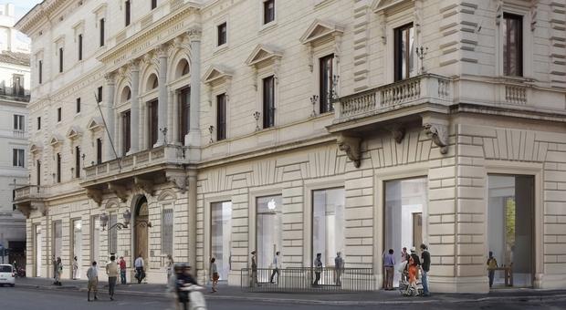 Apple Store apre in Via del Corso a Roma: saranno assunte 120 persone