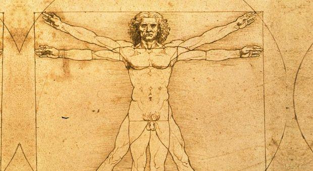 Leonardo, un codice segreto nell'Uomo Vitruviano