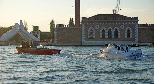 L'area ldel Bacàn in laguna di Venezia