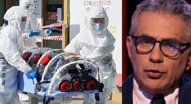 Coronavirus, Pregliasco: «Roma fortunata sinora, ma in caso di contagio misure come a Wuhan»