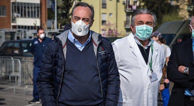 Coronavirus Lombardia, Fontana: presto per parlare di trend positivo. Gallera: resistere ancora 15 giorni