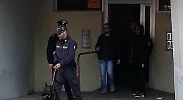 Fermo, blitz nel bunker dello spaccio: rottweiler e coltelli puntati contro gli agenti