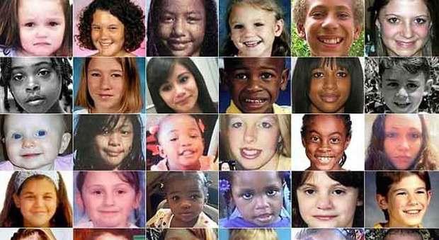 Ritrovati vivi 123 bambini scomparsi da mesi. «Rapiti per il mercato del sesso»