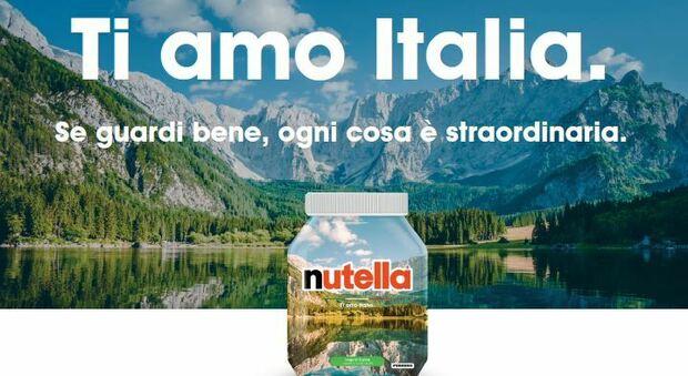 Turismo, con Enit e Ferrero l'Italia vista da un barattolo di nutella