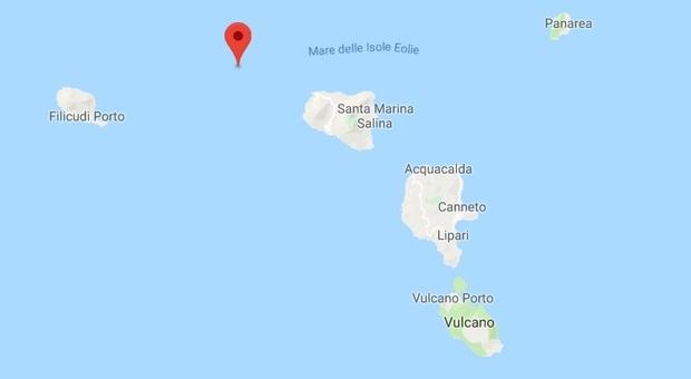 Terremoto, scossa di 3.5 al largo delle isole Eolie
