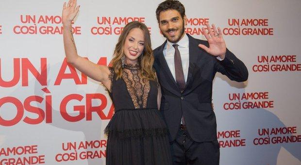 Francesca Loy e Giuseppe Maggio alla presentazione del film