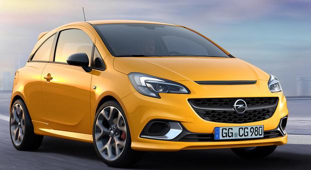 La nuova Opel Corsa Gsi