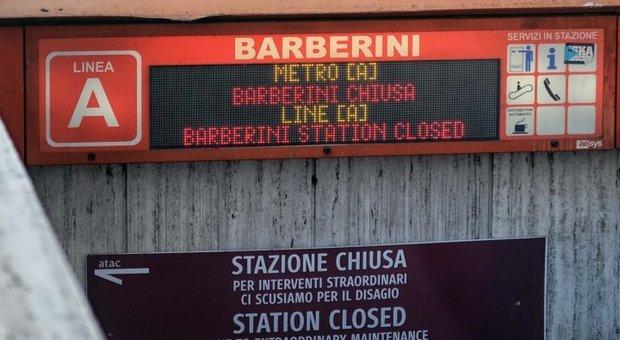 Scale metro A, flop collaudi: Barberini non apre a Natale