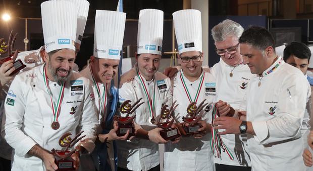 La squadra che ha vinto la Coppa del mondo di gelateria