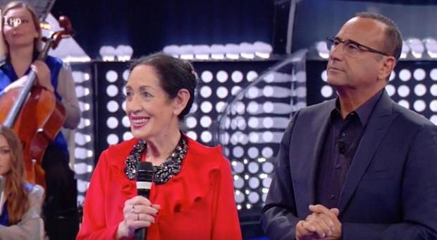La Corrida, aprile 2019: la concorrente bellunese Norma Pocchiesa, 80 anni