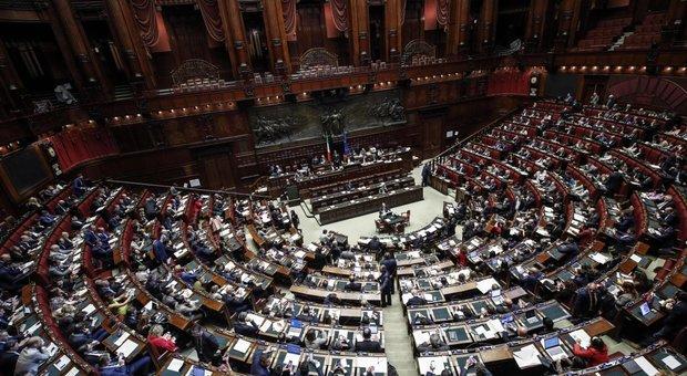L'aula della Camera dei deputati