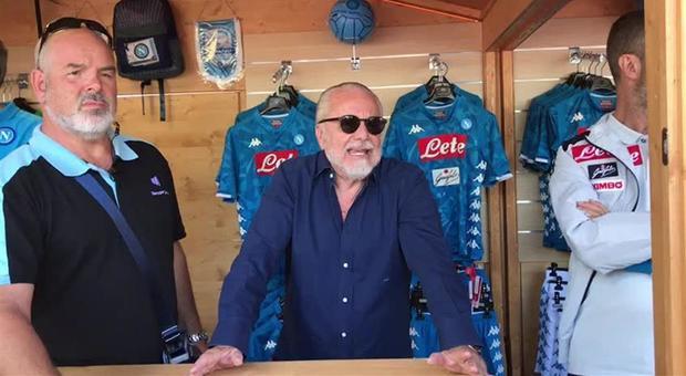 De Laurentiis: «Finché vivrò il Napoli sarà con me»