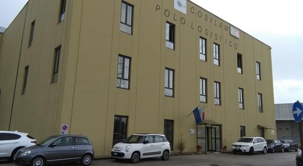 La sede del Cosilam di Cassino