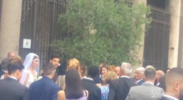 Matrimonio Pellegrini: il centrocampista giallorosso dice sì alla sua Veronica