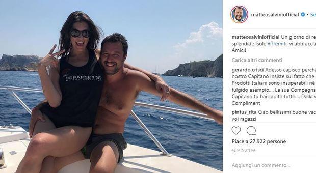 Isoardi sulla fine della relazione con Salvini: «Nessuna discussione politioca, ci vedevamo poco e facevamo altro»