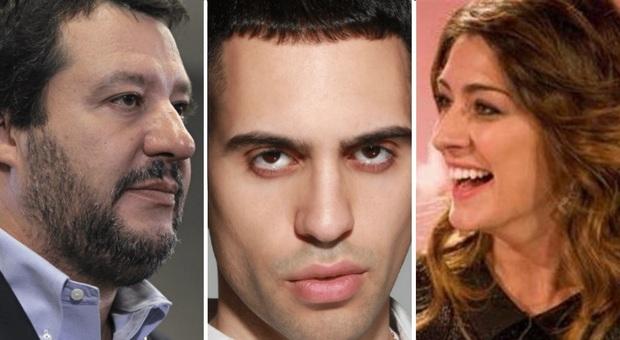 Mamhood, Elisa Isoardi e Salvini: il vincitore di sanremo divide i due ex fidanzati