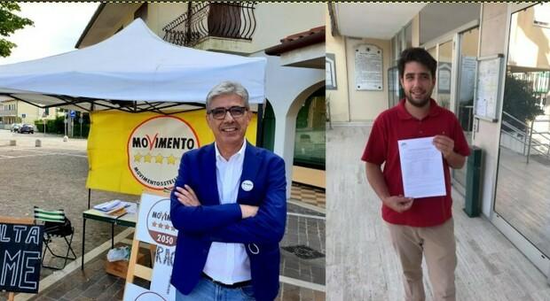 Massimo Vernier e il figlio Alberto