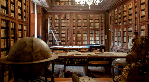 La biblioteca di Treviso