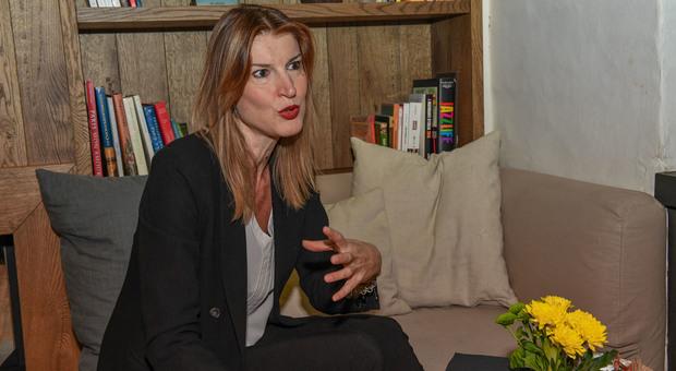 L'assessore di Treviso Lavinia Colonna Preti