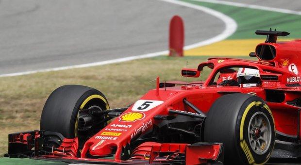 Gp di Germania: Vettel fuori