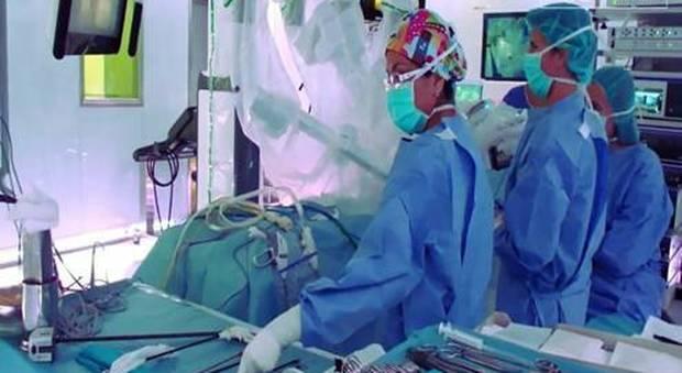 A Catania intervento su arteria occlusa; il paziente si risveglia dal coma