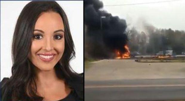 Aereo si schianta in Louisiana, 5 morti: tra le vittime una famosa giornalista sportiva