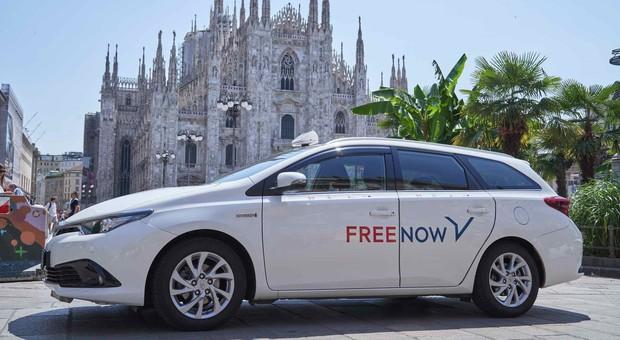 Un taxi Free Now