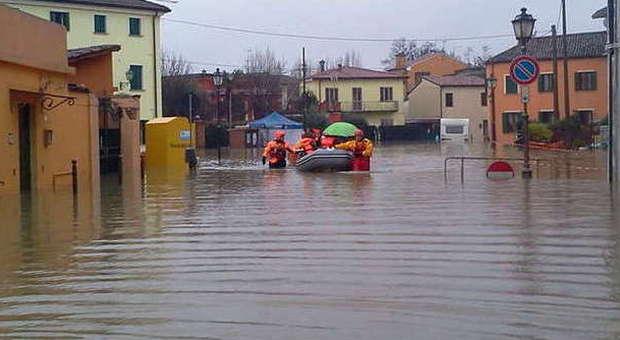 Famiglie evacuate a Bovolenta e Battaglia Terme