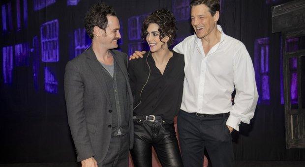 Francesco Bonomo, Rocio Munoz Morales e Giorgio Lupano