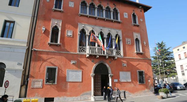 Palazzo Rosso, sede dell'amministrazione comunale di Belluno